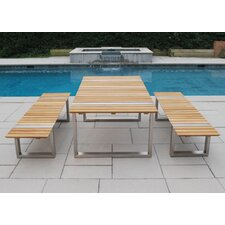 <strong>Kingsley Bate</strong> Boca 3 Piece Dining Set