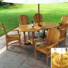 <strong>Kingsley Bate</strong> Hampton 7 Piece Dining Set