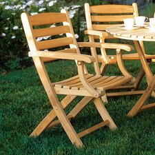 Gearhart Folding Dining Arm Chair