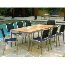 <strong>Kingsley Bate</strong> Tiburon 9 Piece Dining Set