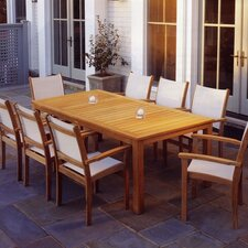 <strong>Kingsley Bate</strong> St. Tropez 9 Piece Dining Set