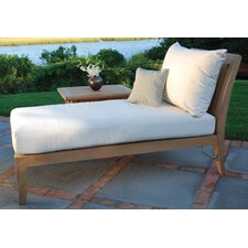 <strong>Kingsley Bate</strong> Ipanema Sectional Chaise Lounge with Cushions