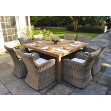 <strong>Kingsley Bate</strong> Wainscott 9 Piece Dining Set