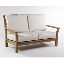 <strong>Kingsley Bate</strong> Mandalay Deep Seating Settee with Cushions