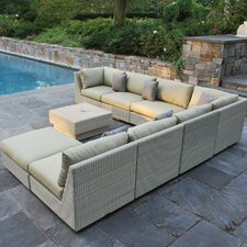 Westport Sectional Deep Seating Group with Cushions