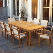 "<strong>Kingsley Bate</strong> Wainscott 85"" Rectangular Dining Table"