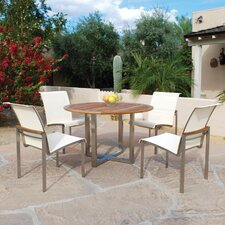 <strong>Kingsley Bate</strong> Tiburon 5 Piece Dining Set
