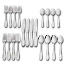 20 Piece Linden Flatware Set