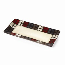 Calico Bread Tray