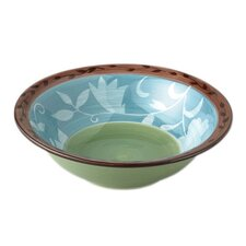 "Patio Garden 11.5"" Serving Bowl"