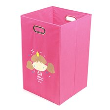 Princess Folding Laundry Bin