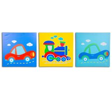 <strong>Nuby</strong> 3 Piece On The Go Canvas Print Set