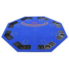 New Design 4 Fold Octagon Poker and Blackjack Table Top