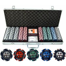 <strong>JP Commerce</strong> 500 Piece Pro Poker Clay Poker Set