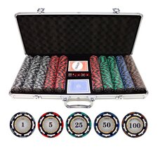 500 Piece Z-Pro Clay Poker Chips
