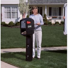 Trimline Plus Post Mounted Mailbox