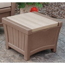 Pioneer End Table with Storage