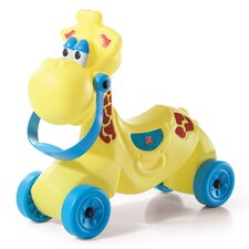Wild Giraffe Side Riders Push/Scoot Ride-On