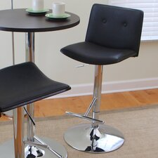 "Lustra 27.5"" Adjustable Swivel Bar Stool"