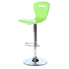 "<strong>LumiSource</strong> H2 23"" Adjustable Bar Stool"