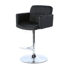 "Stout 24"" Adjustable Bar Stool with Cushion"