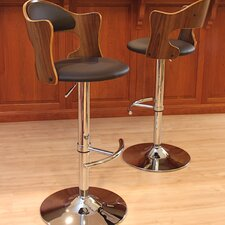 Cello Adjustable Height Swivel Bar Stool