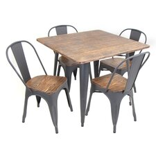 Oregon 5 Piece Dining Set
