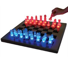<strong>LumiSource</strong> LED Glow Chess Set