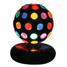 "Rotating Disco Ball 9"" H Table Lamp"