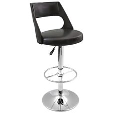 Presta Adjustable Height Swivel Bar Stool