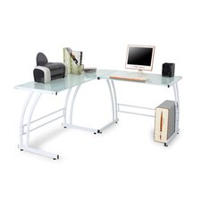 <strong>LumiSource</strong> Double Bit Computer Desk / Workstation