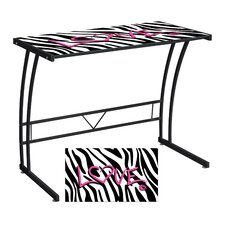 <strong>LumiSource</strong> Zebra Love Expression Sigma Writing Desk