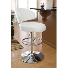 "Regent 28"" Adjustable Swivel Bar Stool with Cushion"