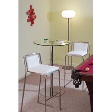 "Cascade 29.5"" Bar Stool in White"