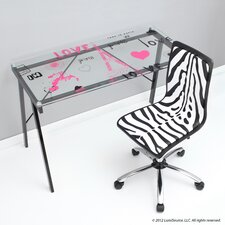 <strong>LumiSource</strong> Love In Paris Office Writing Desk