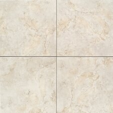 "Brancacci 18"" x 18"" Field Tile in Aria Ivory"