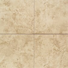 "Brancacci 18"" x 18"" Field Tile in Fresco Caffe"