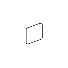 "Brixton 2"" x 2"" Outside Corner Bullnose Tile Trim in Bone"