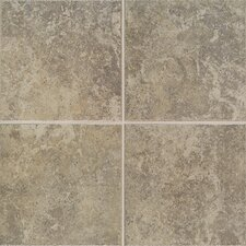 "Castle De Verre 13-1/8"" x 13-1/8"" Floor Field Tile in Grey Stone"