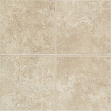 "Castle De Verre 12-13/16"" x 9-13/16"" Wall Field Tile in Turret Beige"