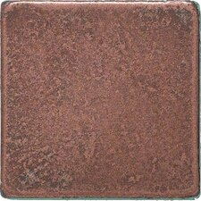 "<strong>Daltile</strong> Castle Metals 2"" x 2"" Basic Dot Decorative Accent Tile in Aged Copper"
