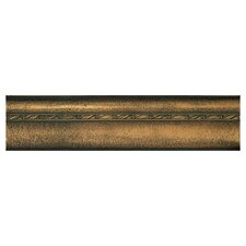 "Metal Signatures Chateau Ogee 12"" x 3"" Liner in Aged Bronze"