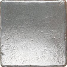 "<strong>Daltile</strong> Metal Signatures Tumbled Stone 6"" x 6"" Field Tile in Aged Iron"