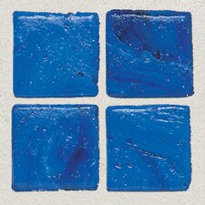 "<strong>Daltile</strong> Sonterra Collection 12"" x 12"" Opalized Mosaic Tile in Kihea Blue"