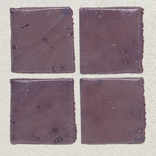 "Sonterra Collection 12"" x 12"" Opalized Mosaic Tile in Purple"