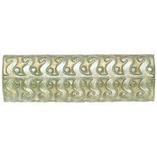 "Cristallo Glass 8"" x 3"" Perennial Decorative Accent in Peridot"