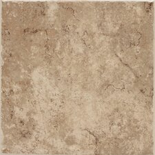 "Fidenza 12"" x 12"" Floor Tile in Café"