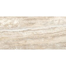 "San Michele 12"" x 24"" Cross - Cut Field Tile in Crema"