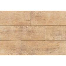 "Timber Glen 8"" x 24"" Rustic Field Tile in Hickory"
