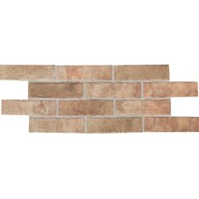 "Union Square 3-7/8"" x 8"" Paver Field Tile in Heirloom Rose"